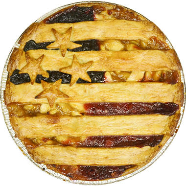 Stars and Stripes Sampler Pie (12 in.)