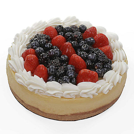 Member's Mark Mixed Berries Topped Cheesecake (75 oz.)