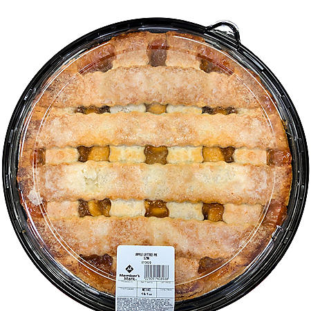 Member's Mark Apple Lattice Pie (72 oz.)