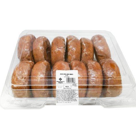 Member's Mark Glazed Apple Spice Cake Donuts (12 ct.)
