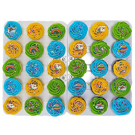Member's Mark Unicorn Cupcakes with Regular Icing (30 ct.)