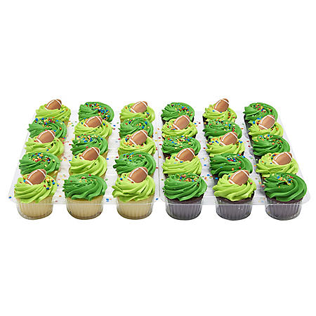 Member's Mark Football Cupcakes (30 ct.)