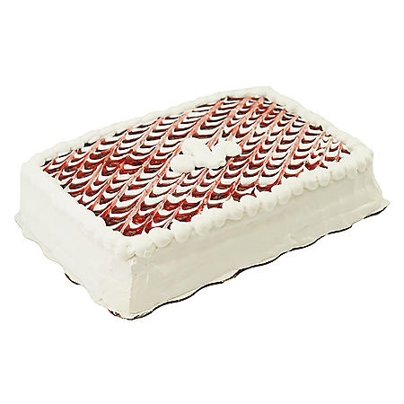 Member's Mark Quarter Sheet Tres Leches Style Cake with Whipped Icing