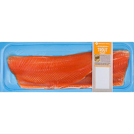 Member's Mark Farm Raised Steelhead Trout Fillet (priced per pound)
