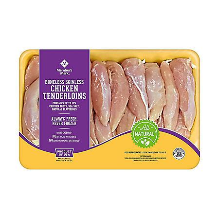 Member's Mark Chicken Tenderloins, Bulk Wholesale Case  (priced per pound)