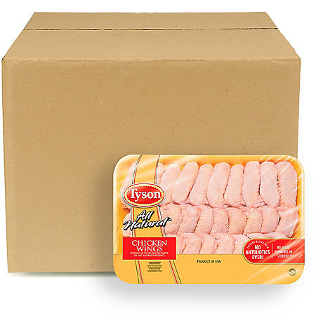 Case Sale: Tyson Whole Chicken Wings (priced per pound)