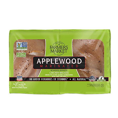 Forester Farmer's Market Applewood Boneless Chicken Breast (priced per pound)