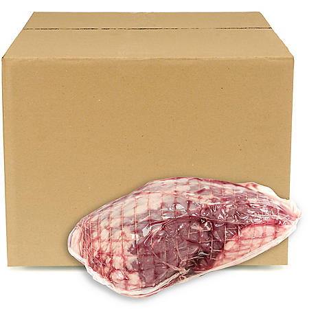 Fresh Australian Boneless Leg of Lamb, Bulk Wholesale Case (priced per pound)