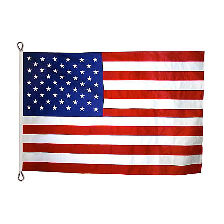Annin - American Flag 8x12' Tough-Tex with Sewn Stripes and Embroidered Stars