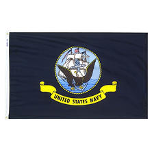 Annin - U.S. Navy Military Flag 3x5 ft. Nylon SolarGuard