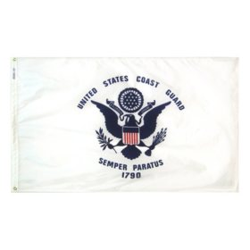 Annin - U.S. Coast Guard Military Flag 3x5 ft. Nylon SolarGuard