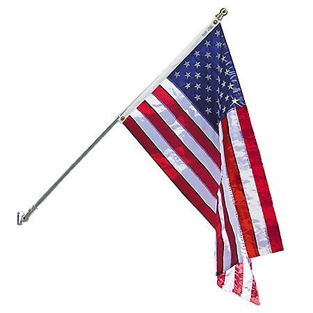 Annin - Spinning Flagpole with 3' X 5' Nyl-Glo U.S. Flag