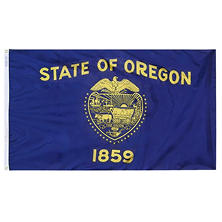 Annin - Oregon state flag 4x6 ft. Nylon SolarGuard