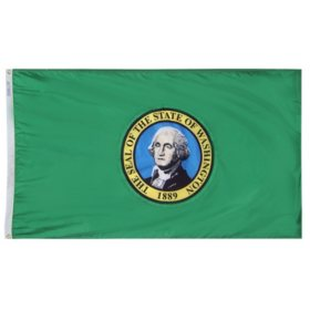 Annin - Washington state flag 3x5 ft. Nylon SolarGuard