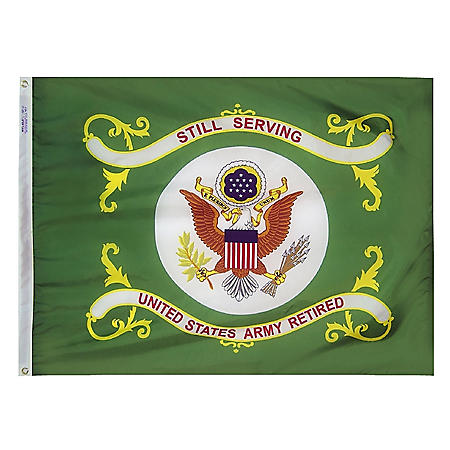 Annin - U.S. Army Retired Flag 3x4 ft. Nylon