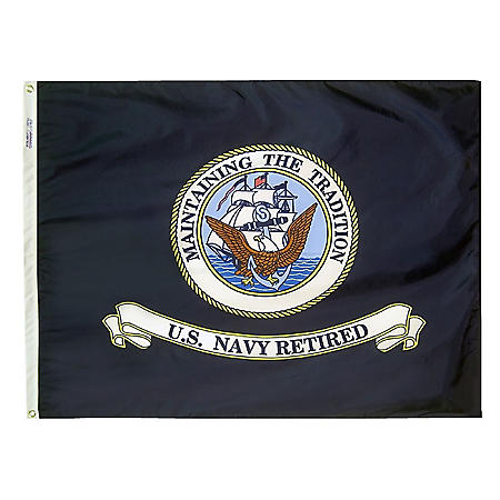 Annin - U.S. Navy Retired Flag 3x4 ft. Nylon