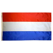 Annin - Netherlands Country Flag 3x5 ft. Nylon SolarGuard