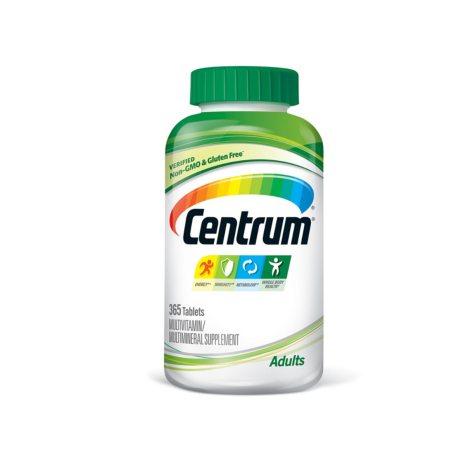 Centrum Adult Multivitamin/Multimineral Supplement Tablet, Vitamin D3, Age 50 and Older (365 ct.)