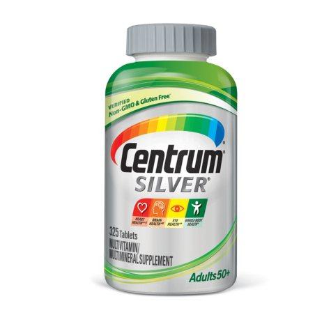 Centrum Silver Adult Multivitamin/Multimineral Supplement Tablet, Vitamin D3 (325 ct.)