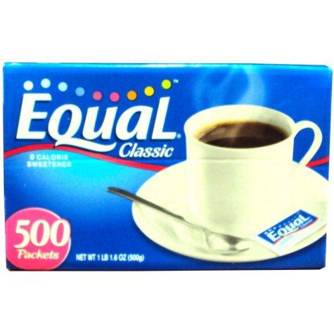 Equal Sweetener - 500 ct.
