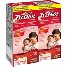 Infants' Tylenol - 2 oz. - 2 pk.