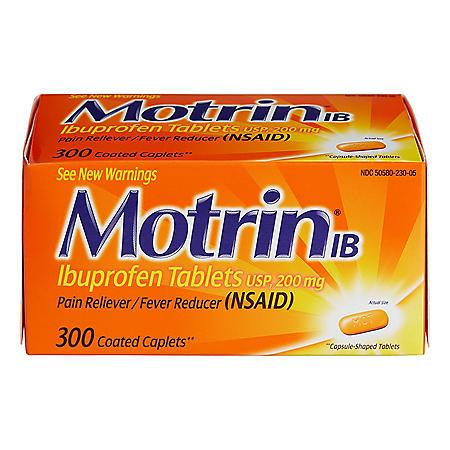 Motrin IB (300 ct.)