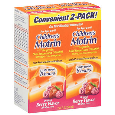 Children's Motrin - Original Berry Flavor - 4 oz. - 2 pk.