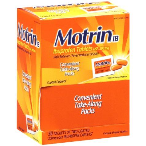Motrin IB (50 ct., 2 pk.)