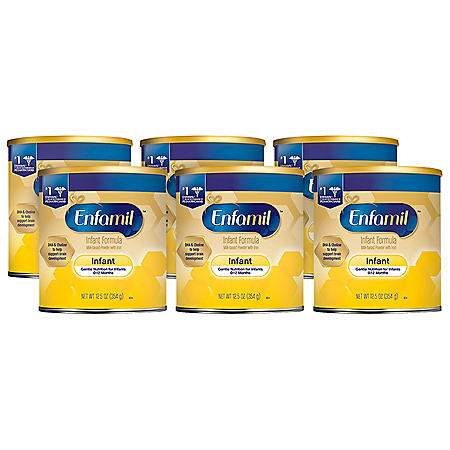 Enfamil Infant Formula Milk Based Powder (12.5 oz., 6 pk.)
