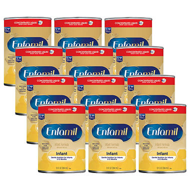 Enfamil Infant Formula Concentrated Liquid (13 fl. oz., 12 pk.)