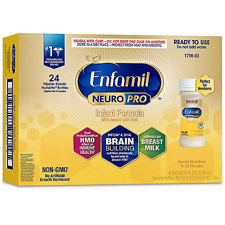 Enfamil NeuroPro Infant Formula, Ready to Use (2 fl. oz., 24 pk.)