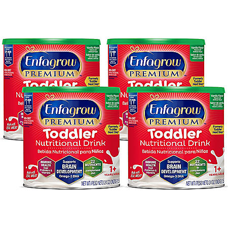 Enfagrow Toddler Next Step Milk Drink Powder, Vanilla (24 oz., 4 pk.)