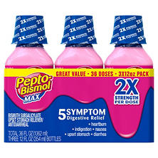 Pepto Bismol Max Liquid Triple Pack
