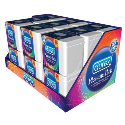 Durex Pleasure Pack Condoms - 48 ct.