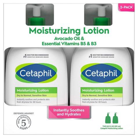 Cetaphil Moisturizing Lotion (20 fl. oz., 2 pk.)