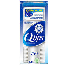 Q-tips Cotton Swabs (750 ct., 2 pk. + 30 ct. Travel Pack)