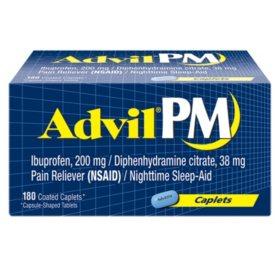 Advil PM Caplets (180 ct.)