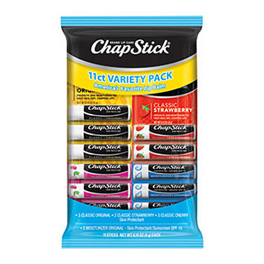 Chapstick Variety Pack - 11 ct.