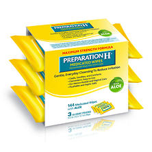 Preparation H® Medicated Wipes (144 ct.)