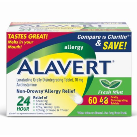 Alavert Allergy 24 Hour Value Pack - 48 ct. + 12 ct.