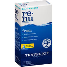 Baush + Lomb Renu Fresh Contact Lenses Multi-Purpose Solution Travel Kit (2 fl. oz.)