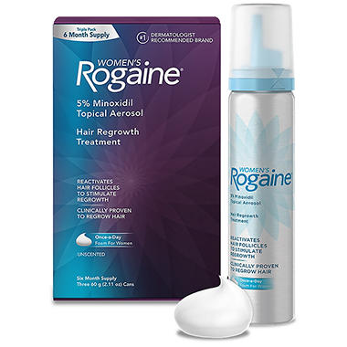 Women's Roagaine Foam (2.11 oz., 3 pk.)