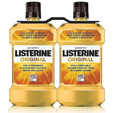 Listerine Original Antiseptic (1.5L, 2 pk.)
