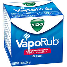 Vicks VapoRub Cough Suppressant Topical Analgesic Ointment (1.76 oz.)
