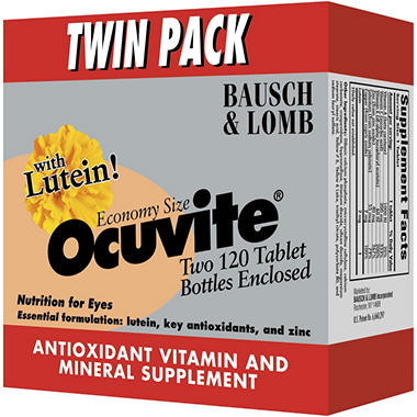 Ocuvite® Tablets - 2/120 ct. bottles