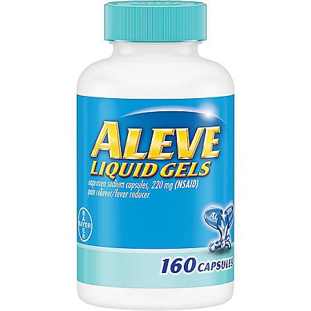 Aleve Liquid Gels (80 ct., 2 pk.)