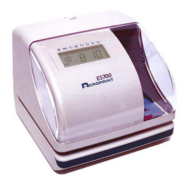 ES700 Electronic Time Recorder and Document Stamp