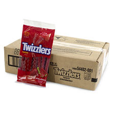 Twizzler's Strawberry Twist - 7 oz. Bag - 12 ct.