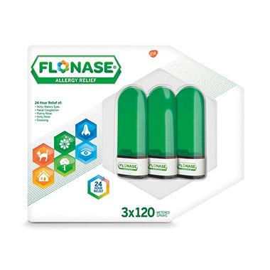 Flonase Allergy Relief Nasal Spray 054 Fl Oz 120 Metered Sprays