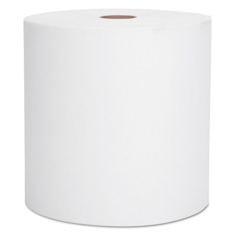 Kimberly-Clark Professional - SCOTT High-Capacity Hard Roll Towels, 8 x 1000ft, White -12 Rolls/Carton